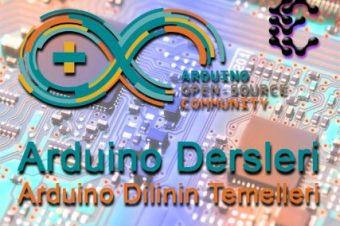 Arduino Programlama Dili – for Döngüsü