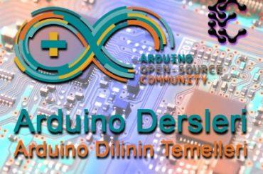 Arduino Programlama Dili Temelleri