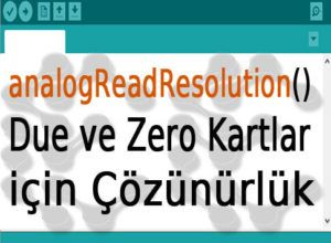 Arduino Due ve Zero