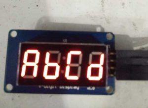 Arduino TM1637