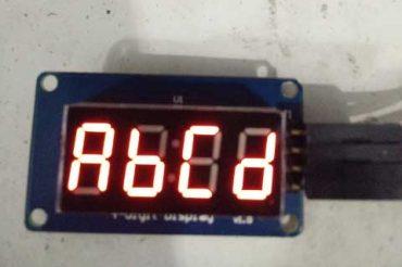 Arduino TM1637 Dijital Display Kullanımı ve Özel Kütüphane