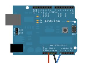 Arduino potansiyometre