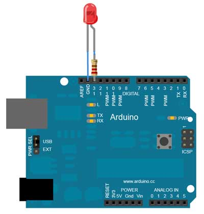 Arduino Blink (Yanıp Sönme)
