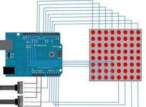 Arduino LED Matrix Ekran Kontrolü
