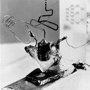 İlk transistör